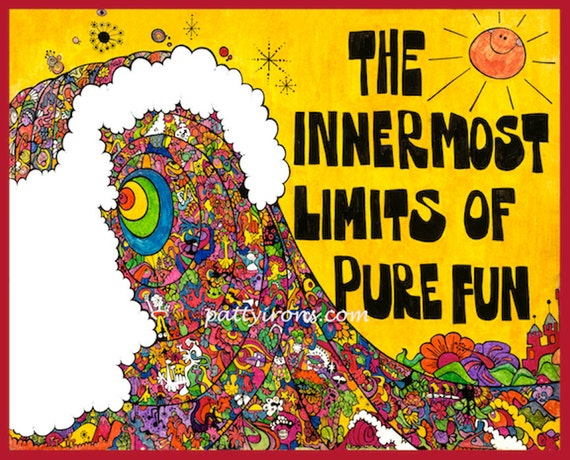 Surf Movie Poster ~ The Innermost Limits of Pure Fun