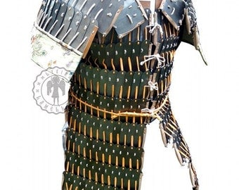 Chinese-Mongolian lamellar  medieval armour