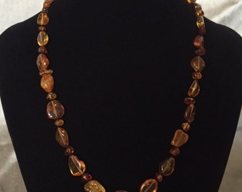 Amber necklace, Baltic amber necklace, gift for her, natural jewelry, unique jewelry