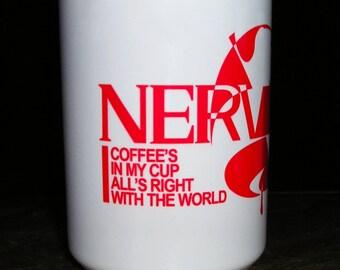 Evangelion Inspired NERV Mug