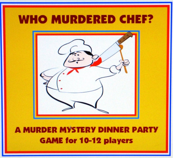Host A Murder Mystery Dinner Party Game For 10-12 Players