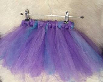 Purple & Turquoise Baby Tutu! Infant tutu skirt - photo prop, photo shoot, birthday party, cake smash