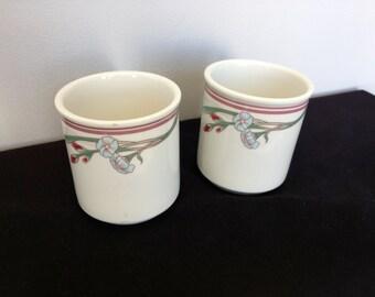 Set of Two Restaurant ware Rego Castille Coffee Mugs