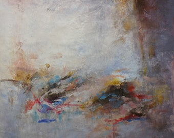 """Abstract 48""""x48"""" (1021)"""