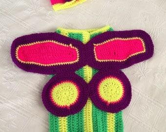 Crotchet Baby Butterfly