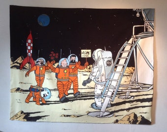 Tintin on the Moon