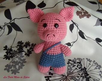 Hook pink pig