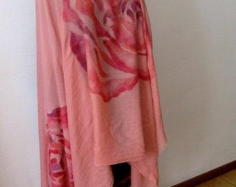 Sciarpa Rosa in viscosa, un regalo per la donna