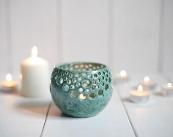 Night Light / Ceramic Candle Holder