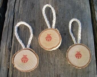 Birch Ornaments, Set of 3, Rustic Christmas Ornaments, Rustic Gift Tags, Christmas Gifts, Holiday Decor, Christmas Decor, Holiday Gifts