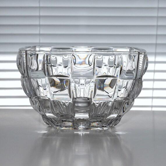 Paloma picasso villeroy boch geometric crystal bowl for Villeroy boch crystal