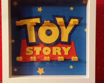 toy story/the simpsons/lego/star wars - lego collectors frame