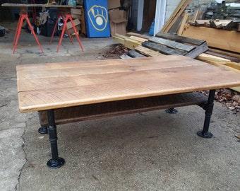 New oak table