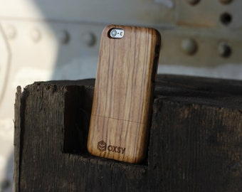 OXSY Zebrawood Genuine Wood Case - Apple iPhone 6 / 6S