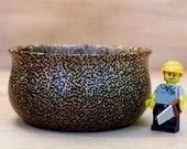 "Black Palm Wood Mini-bowl - 3.75"" Diameter - Wooden Bowl - Handmade"