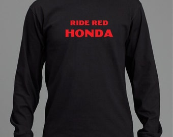 honda t shirt etsy. Black Bedroom Furniture Sets. Home Design Ideas