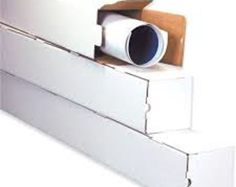 Square Mailing, Shipping Tubes 25 Pack-Various Sizes, Shipping Box, Boxes