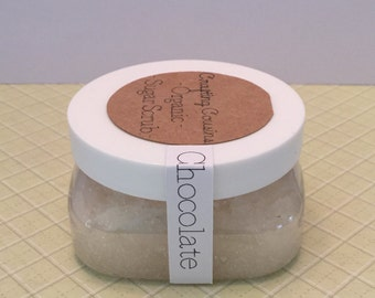 Organic Sugar Scrub - Chocolate