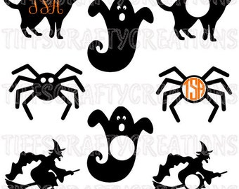 Halloween svg halloween svg bundle halloween cut file witch svg designs halloween ghost svg ghost svg file witch cut file witch monogram svg