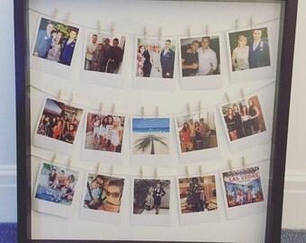Personalised Hanging Polaroid Frame