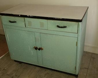 1950's Metal Kitchen Unit