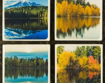 Reflections - Ceramic Tile Coaster