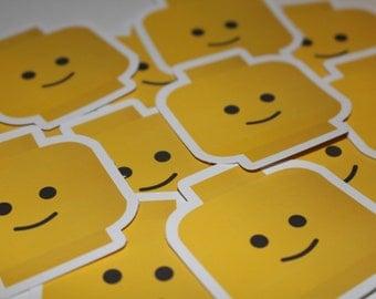 LEGO Minifigure Sticker