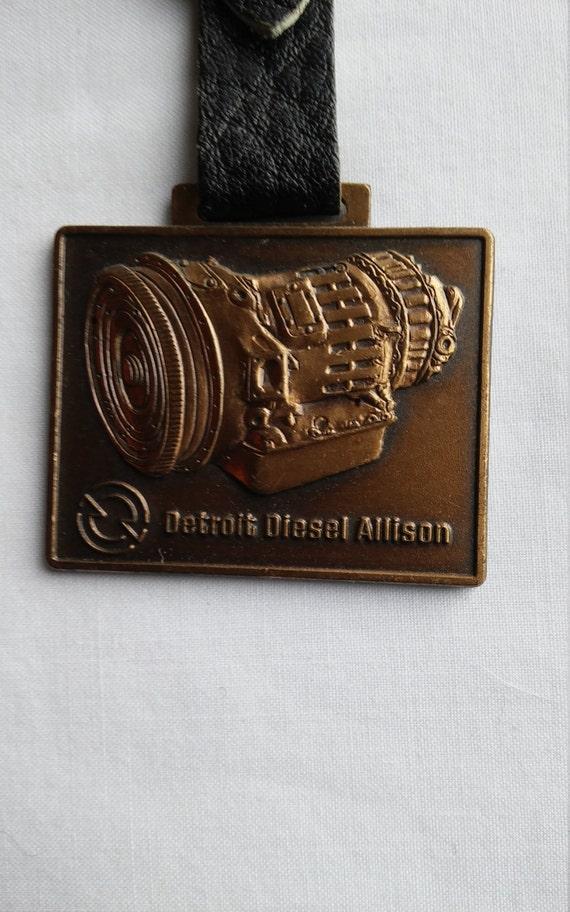 Vintage Detroit Diesel Allison Advertising Watch FOB