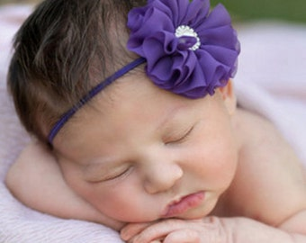 Baby Head Band, Baby Hair Bow, Toddler Headband, Little Girl Headband, Infant Headband