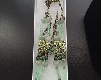 Cool green elegance