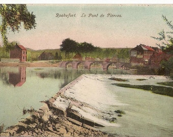 Rochefort. Le Pont de Pierres. Carte Postale