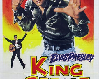 Elvis Presley King Creole reproduction Poster