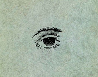 Lover's Eye (Small) - Antique Style Clear Stamp