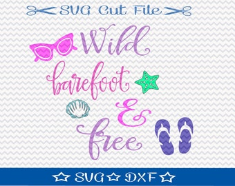 Summer Vacation SVG File Download / Silhouette File / Cricut File / Beach SVG