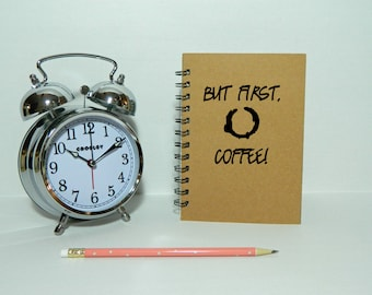 But first, coffee notebook/journal