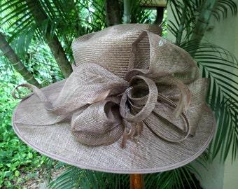 Fantastic Wide Brim Runway Straw Hat