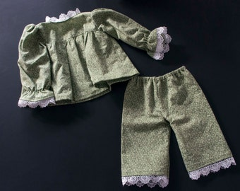 Pajamas for Josephine's Doll and other 21-inch (53 cm) dolls