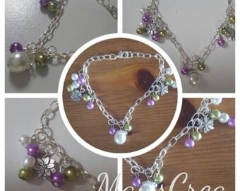"Bracelet theme ""Flowers"""
