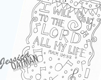 Faith, Coloring Pages, Bible Coloring Pages, Coloring Pages, Bible Verse art, Kids Coloring Pages, Kids Bible, Coloring Book, Sunday School