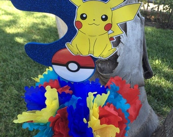 Pokemon stick only party decoration or centerpiece