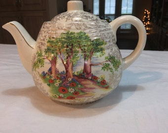 Teapot made in Norbury, England