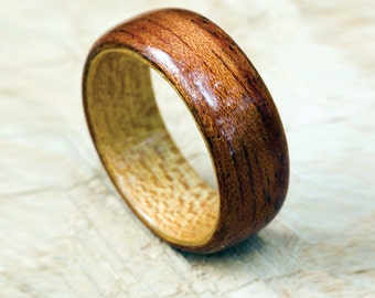 Gloss finish Wooden Ring