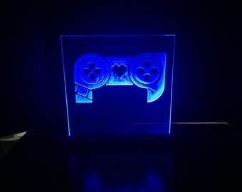 Patch Gaming LED Sign - Username Etching