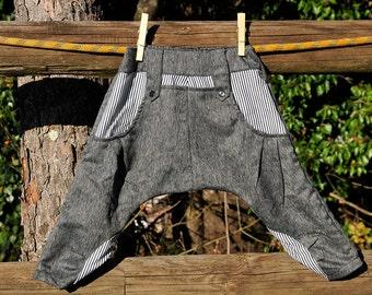 Child boy girl unisex pants harem pants