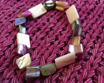 Mother of Pearl shell bracelet