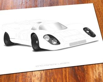 1970 Porsche LeMans