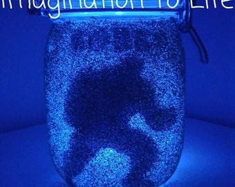 Hulk blue night light