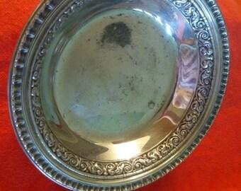 Reed and Barton 1201 silver plated bonbon bowl