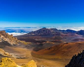 Maui, HI  Haleakala Crater.