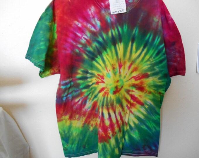100% cotton Tie Dye T shirt MMXL4 size XL